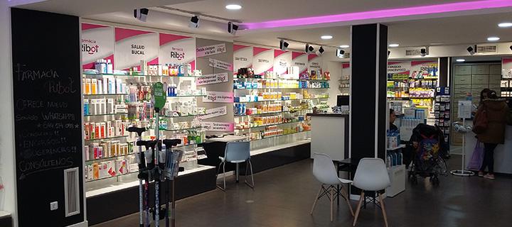 Farmacia Ribot (interior)